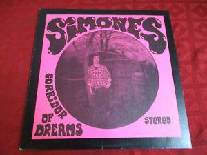 LP Psych AL SIMONES Corridor of Dreams  Original PEYOTE US