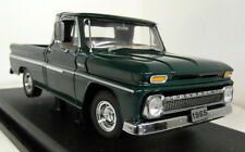 SUNSTA 1/18 SCALA 1360 65' CHEVY PICKUP c-10 styleside Verde Modello Diecast Auto