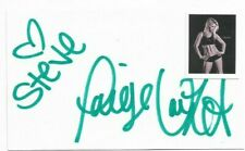 """Paige Van Zant Signed 3x5 Index Card """"MMA Fighter"""" 'To Steve'"""