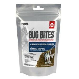 Fluval Bug Bites Granulos Formula tropical 125g 1,4-2mm