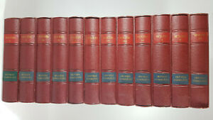 OEUVRES COMPLETES  MOLIERE 12 tomes 1953 Ed limitée numérotée illustrée M.POUZET
