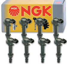 8 pcs NGK Ignition Coil for 2002-2007 Dodge Ram 1500 4.7L V8 - Spark Plug kb