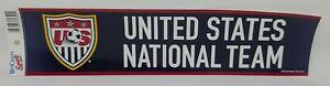 WINCRAFT SPORTS U.S. National Soccer Team Bumper Sticker 12inch