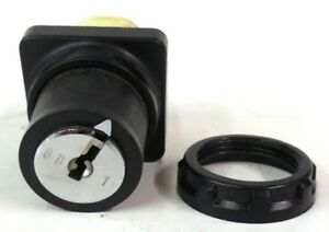 TELEMECANIQUE,  ROTARY KEY SWITCH,  D1L10