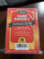 Cardboard Gold PSA Grade Card Saver 1 - 50 Ct - New Sealed: Buy 2 Priority Ship!