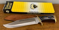 Timber Rattler Western Outlaw TR65 Bowie Hunters Combat Knife Full Tang 16 1/2""