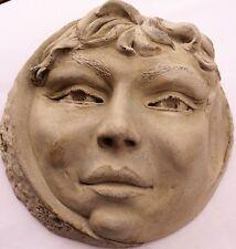 Moonchild Wall Sculpture, Stylish Original Cast Stone Artwork Signed & Numbered