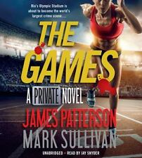 New Audio Book James Patterson THE GAMES : A PRIVATE NOVEL Unabridged CDs