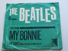 THE BEATLES ORIGINA 1964  USA  45 MY BONNIE   &  PICTURE   SLEEVE EX