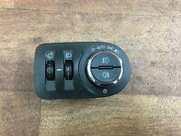 Vauxhall Corsa E 1.4 ecoflex 2015 Headlight Control Switch Panel 13470454