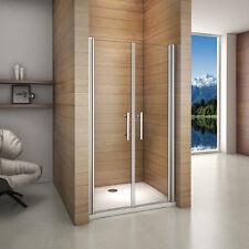 120x195cm Porte de douche pivotante et réglable 6mm verre trempé anticalcaire
