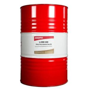 SINOPEC HEAVY DUTY EP GEAR OIL, ISO VG 220, AGMA 5 - 55 GALLON DRUM
