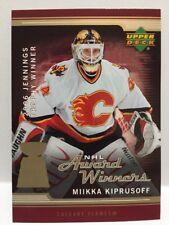 2006-07 UPPER DECK Series 1 Hockey Flames KIPRUSOFF Oversized Card NM-MT
