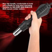 Heißluftpistole Pistolengriff Heißluftfön Griff 858 8858 BGA Rework Lötstation