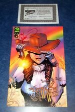 THE LEGEND OF OZ WICKED WEST #1 A signed 1st print TOM HUTCHINSON BGI 2012 COA