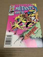 New Mutants Annual (1986) #2 - 1st Appearance of Psylocke NEWSSTAND