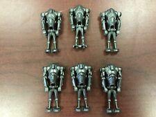 LEGO Star Wars Super Battle Droid Minifigures Lot of 6 7654 7869