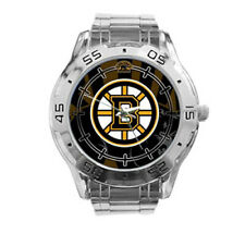 Boston Bruins NHL Stainless Steel Analogue Men's Watch Gift