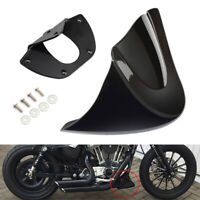 Twinyan Black Chin Fairing Lower Front Spoiler Air Dam for Harley 2006-2017 Harley Dyna