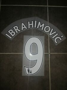 Flocage Officiel Ibrahimovic Manchester United