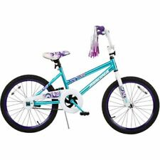 "Blue Girls Bike Bicycle Bmx 20"" Girl's Birthday Gift or Graduation Gift"