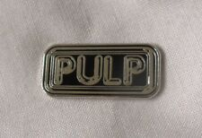 ***NEW*** Pulp enamel badge. Jarvis Cocker, Indie, Brit Awards. Mod