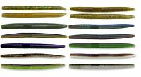Gary Yamamoto Senko Soft Plastic Worm Stick Bait Bass Fishing Lure 5 inch 10pk