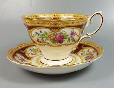 ROYAL ALBERT LADY HAMILTON TEA CUP AND SAUCER (PERFECT)