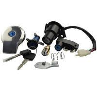 Ignition Switch Fuel Gas Cap Lock Key Set For Yamaha Virago XV125 XV250 90-11