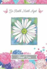 Thank You Card Daisy and Butterfly