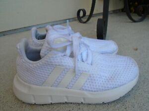Baby Boys' Adidas white sneakers sz 8K