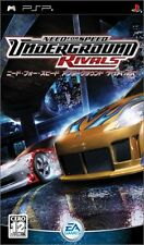 USED Need for Speed Underground Rivals Japan Import Sony PSP