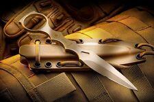 Spartan Blades CQB Tool Fixed Blade Tactical Knife Kydex Sheath New SB9DE New