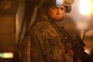 MICHELLE RODRIGUEZ'S (ELENA SANTOS) SCREEN WORN 'BATTLE LA' US AIR FORCE UNIFORM