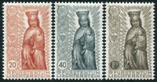 LIECHTENSTEIN-1954 Termination of Marian Year Set of 3 Sg 327-9  UNMOUNTED MINT