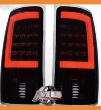 2007 2008 2009 2010 2011 2012 2013 GMC Sierra 1500 led tail lights Smoked PAIR