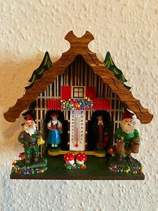 Schwarzwälder Wetterhaus Modell 855 aus Holz gefertigt