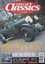 Popular Classics 07/1994 featuring Bentley, Ford, Morris, BMW, Jaguar, Mini