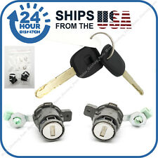 Door Lock Cylinder Front Set Kit with 2Keys fit Honda S2000 Accord Civic Odyssey