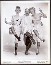 VERONICA LAKE & JOAN CAULFIELD leggy dancers VINTAGE PHOTO corset pantaloons