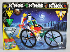 RARE VINTAGE 1996 KNEX 183 PIECES 22517 SPACE TRICYCLE 3 MODELS NEW MIB !