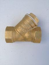 40mm Brass Y Strainer Brass Filter House Tank Valve 1 1/2 inch Brass Y Strainer