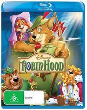 *BRAND NEW & SEALED* Robin Hood (Blu Ray) Disney Animated Cartoon Movie