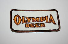 Oly Vintage Olympia Beer Distributor Brown Cloth Patch 1990s NOS New