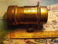 Darlot Paris B.F.&Co. Brass lens 108mm F.L.= 108/44=F:2.45 Wet plate lens?