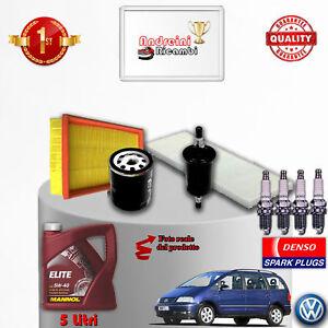 Inspektionskit Filter Öl Kerzen TSI Sharan 1.8 20V 110KW 150CV Von 2009->