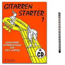 Cees Hartog Gitarrenstarter 1 / CD, MUSIKBLEISTIFT / ALB10652 / 9990050673372