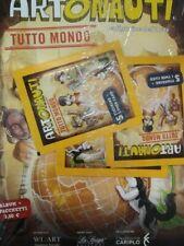 ARTONAUTI TUTTO MONDO ALBUM +3 BUSTINE FIGURINE STICKERS & CARDS.