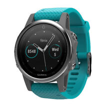 Garmin Fenix 5S Silver/Turquoise Sports (Running & Cycling) GPS