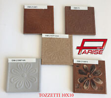 Tozzetto pavimento rivestimento in gres porcellanato decorato colorato 10x10
